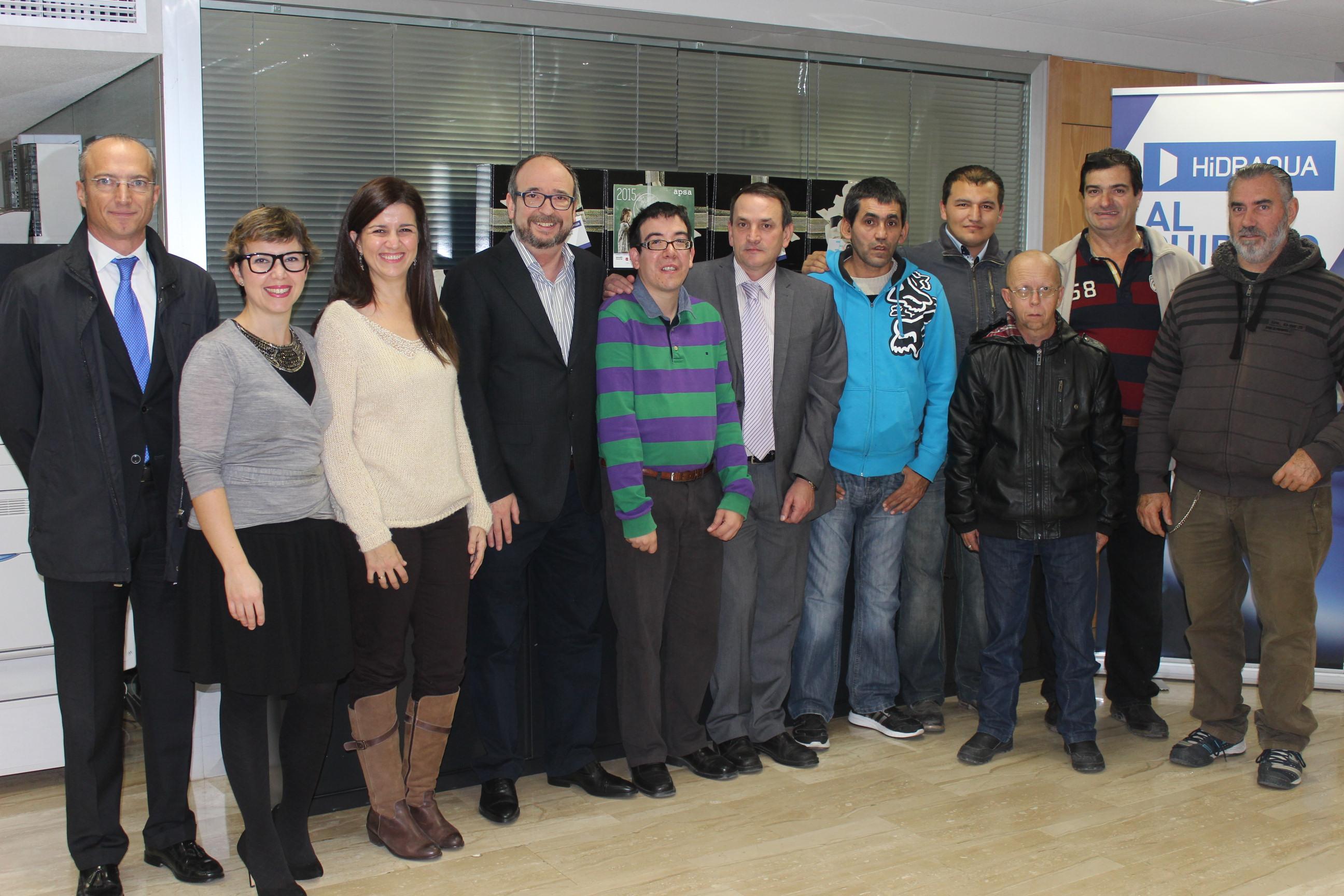 Hidraqua destina 22.000€ para la ayuda a personas con discapacidad intelectual en la provincia de Alicante