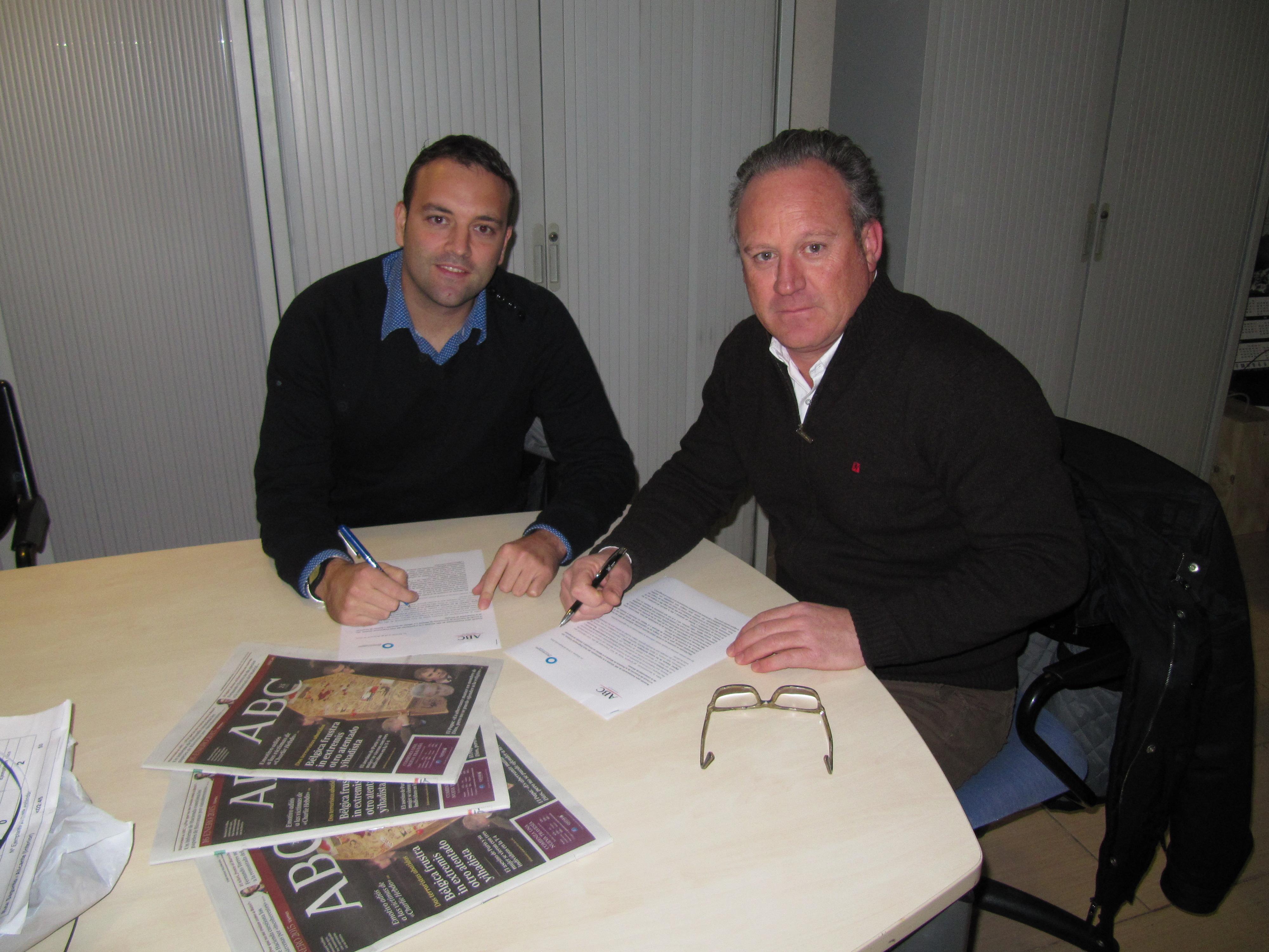 Incorporación de ABC Alicante a la organización del Foro Empresarial Síntesis.