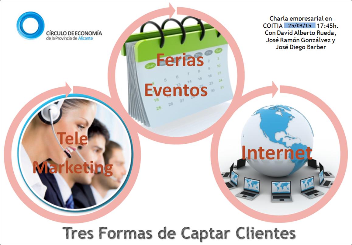 Tres formas de captar clientes