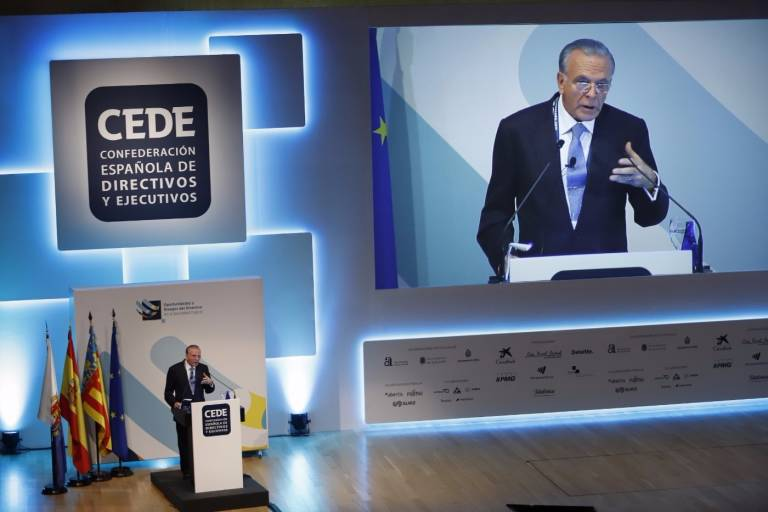 """Isidro Fainé (presidente CEDE) aboga por un crecimiento económico """"inclusivo"""", además de sostenible"""